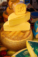 Market cheese stall