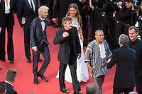 Hopper Jack Penn, Adele Exarchopoulos, Sean Penn, Zubin Cooper - CANNES 2016 - MONTEE DU FILM 'THE LAST FACE'
