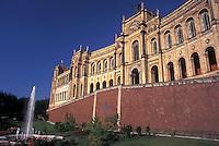 Munich, Germany, Bavaria, Munchen, Europe, Maximilaneum, the Bavarian Parliament.