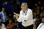 Argentina´s coach Julio Lamas during FIBA Basketball World Cup Spain 2014 match between Argentina and Greece at Sevilla stadium in Sevilla, Spain. September 04, 2014. (ALTERPHOTOS/Victor Blanco)