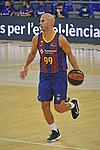 League ACB-ENDESA 2020/2021 - Game: 1.<br /> Barça vs Hereda San Pablo Burgos: 89-86.<br /> Nik Calathes.