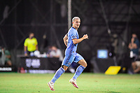 LAKE BUENA VISTA, FL - JULY 14: Alexander Ring #8 of NYCFC running after the ball during a game between Orlando City SC and New York City FC at Wide World of Sports on July 14, 2020 in Lake Buena Vista, Florida.