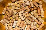 Wine Corks, Incanto Restaurant, Florence, Tuscany, Italy