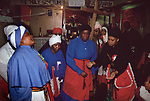 Mount Zion Spiritual Baptist Church. Uk In spirit, women do a spirit dance. 1990s