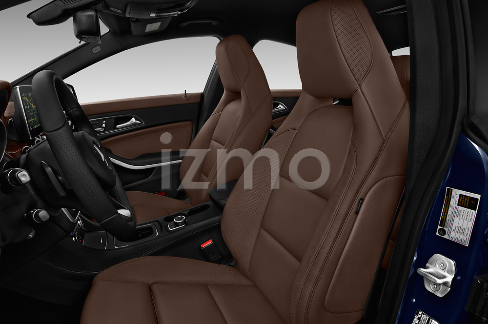 Front seat view of 2018 Mercedes Benz CLA-Class CLA250 4 Door Sedan Front Seat  car photos