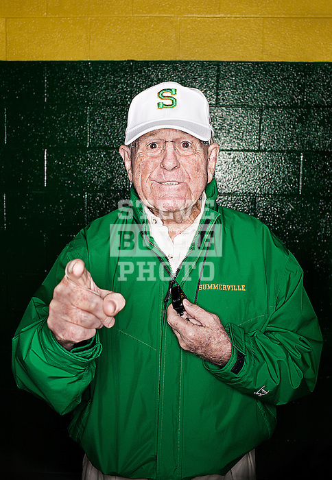 Summerville High School football coach John McKissick celebrated his 600th win on October 26, 2012 in Summerville, South Carolina.  He became the first American football coach in history (High School, College or Professional) to win 600 career games.  McKissick hasn't missed a game in 61 years and is the longest serving high school football coach of all-time. He has led Summerville to 10 state championships. Currently with 601 wins, McKissick holds the record for most wins by a football coach at any level.