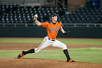 AZL Giants relief pitcher Pat Young (33) delivers a pitch to the plate against the AZL Padres 2 on July 13, 2017 at Scottsdale Stadium in Scottsdale, Arizona. AZL Giants defeated the AZL Padres 2 11-3. (Zachary Lucy/Four Seam Images)
