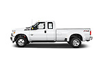 Car Driver side profile view of a 2015 Ford F-350 Super Duty XL 4x4 SuperCab 158-In DRW 2 Door pickup Side View