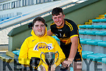 Ian O'Connell and Michael Horgan, Dr. Crokes after the Kerry County Intermediate Hurling Championship Final match between Dr Crokes and Tralee Parnell's at Austin Stack Park in Tralee