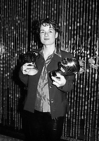 Montreal -Sept 7 1998 Manon Briand awarded at Montreal World Film Festival for her 1st film : 2 Secondes<br /> <br /> <br /> PHOTO :  Agence Quebec Presse