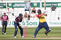 Tom Westley in batting action for Essex during Essex Eagles vs Middlesex, Vitality Blast T20 Cricket at The Cloudfm County Ground on 18th July 2021