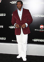 HOLLYWOOD, LOS ANGELES, CA, USA - AUGUST 11: Wesley Snipes arrives at the Los Angeles Premiere Of Lionsgate Films' 'The Expendables 3' held at the TCL Chinese Theatre on August 11, 2014 in Hollywood, Los Angeles, California, United States. (Photo by Celebrity Monitor)