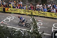 Remi Cavagna (FRA/Deceuninck-Quick Step) up the Keizersberg<br /> <br /> Men Elite – Road Race (WC)<br /> Race from Antwerp to Leuven (268.3km)<br /> <br /> ©kramon
