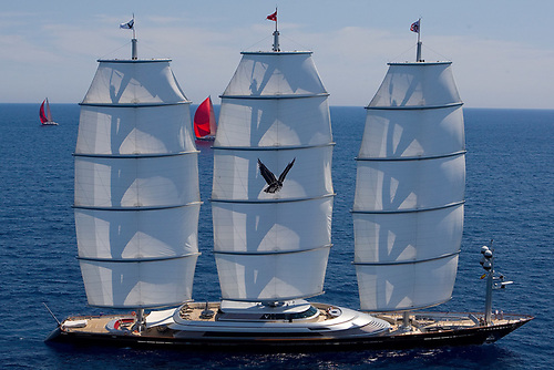 The 88m Maltese Falcon was the largest ever superyacht to race at the Superyacht Cup Palma in 2011. The cup celebrates its 25th year this July