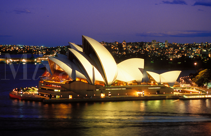 Australia. Sydney.  The Opera House.