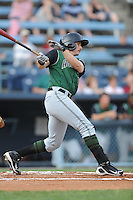 Augusta GreenJackets Ryan Lollis #14 swing at a pitch during a game against the Asheville Tourists at McCormick Field in Asheville,  North Carolina;  June 1, 2011.  The GreenJackets won the game 13-6.  Photo By Tony Farlow/Four Seam Images