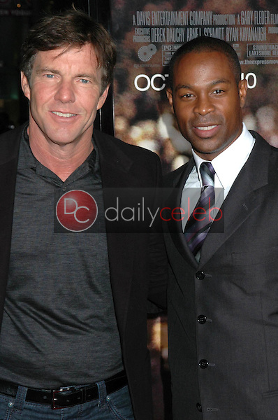 Dennis Quaid and Darrin Dewitt Henson<br />