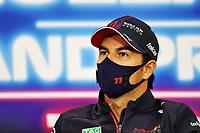 26th August 2021; Spa Francorchamps, Stavelot, Belgium: FIA F1 Grand Prix of Belgium, driver arrival day:  11 Sergio Perez MEX, Red Bull Racing