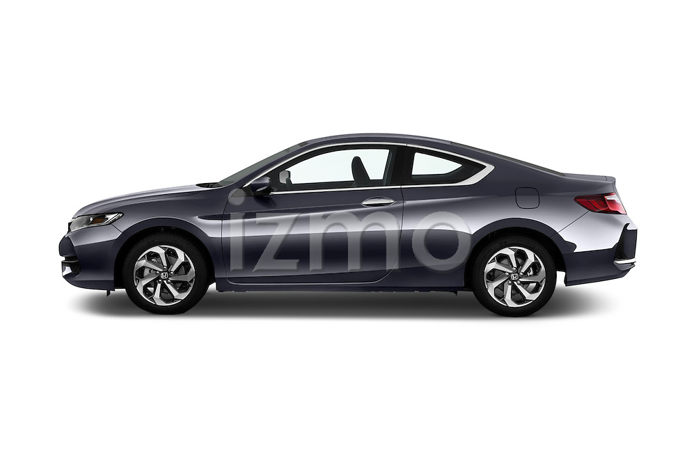 Car Driver side profile view of a 2017 Honda Accord LX-S 2 Door Coupe Side View
