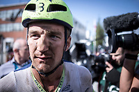 3th place finisher Timothy Dupont (BEL/Wanty Gobert) post race<br /> <br /> Antwerp Port Epic 2019 <br /> One Day Race: Antwerp > Antwerp 187km<br /> <br /> ©kramon
