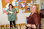 Bernie O'Carroll, (left) Manager of the Shanakill Family Resource Centre with Brenda Griffin at the Shanakill Family Resource Centre on Monday.
