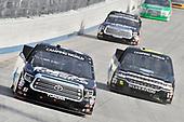 #51: Harrison Burton, Kyle Busch Motorsports, Toyota Tundra DEX Imaging, #6: Norm Benning, Norm Benning Racing, Chevrolet Silverado Zomongo