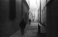 Sabbioneta (Mantova). Un vicolo, an alley