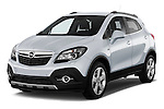 Front three quarter view of a 2013 Opel Mokka Cosmo SUV