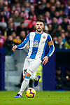 David Lopez Silva of RCD Espanyol in action during the La Liga 2018-19 match between Atletico de Madrid and RCD Espanyol at Wanda Metropolitano on December 22 2018 in Madrid, Spain. Photo by Diego Souto / Power Sport Images