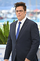 CANNES, FRANCE. July 13, 2021: Benicio Del Toro at the photocall for Wes Anderson's The French Despatch at the 74th Festival de Cannes.<br /> Picture: Paul Smith / Featureflash