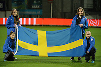 20160302 – ROTTERDAM ,  NEDERLAND : pictured during the Olympic Qualification Tournament  soccer game between the women teams of Norway and Sweden, The first game for both teams in the Olympic Qualification Tournament for the Olympic games in Rio de Janeiro - Brasil, Wednesday 2 March 2016 at Stadion Woudestein in Rotterdam , Netherlands  PHOTO DIRK VUYLSTEKE