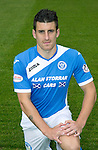 St Johnstone FC photocall Season 2016-17<br />Michael Coulson<br />Picture by Graeme Hart.<br />Copyright Perthshire Picture Agency<br />Tel: 01738 623350  Mobile: 07990 594431