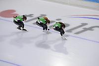 SCHAATSEN: HEERENVEEN: 015 -10-2020, IJsstadion Thialf, Topsporttraining, Team Reggeborgh na de 10 dagen quarantaine weer terug op het ijs, ©foto Martin de Jong