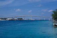 1979  File Photo, Nassau, Bahamas - bridge
