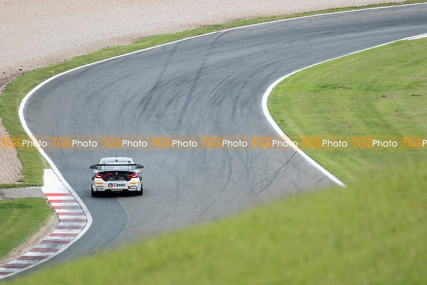 Will Burns & Gus Burton, BMW4 GT4, Century Motorsport through Schwantz Curve during the British GT & F3 Championship on 11th July 2021
