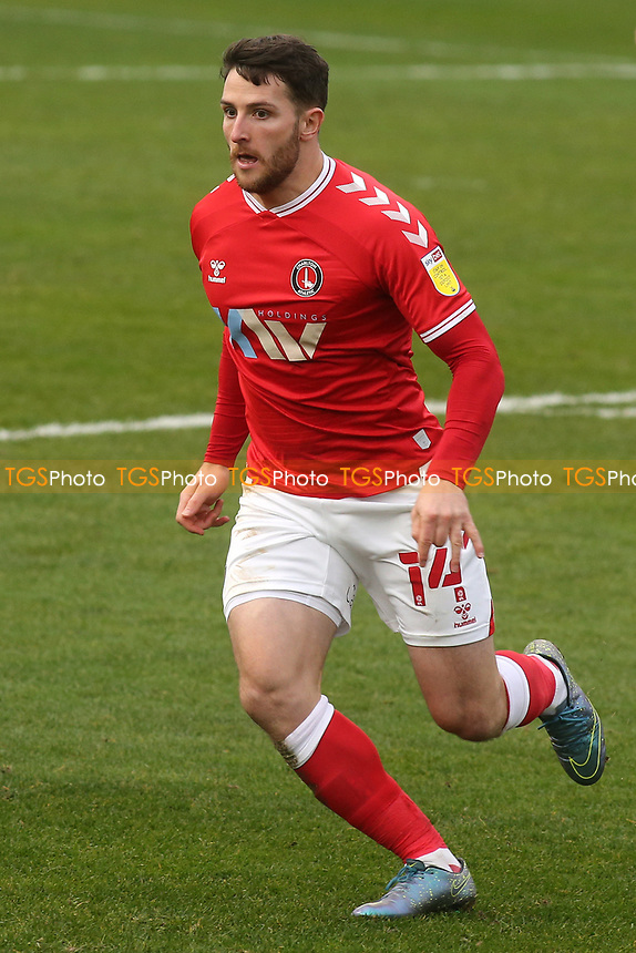 Conor Washington of Charlton Athletic during Gillingham vs Charlton Athletic, Sky Bet EFL League 1 Football at the MEMS Priestfield Stadium on 21st November 2020