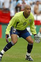 Tim Howard, USA vs. Argentina, 2003.