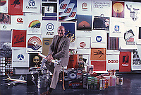 Designer Saul Bass, 1980.