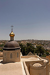Judea, a view from the bell tower of the Russian Orthodox Church in Hebron