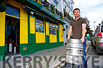 Alan Breen restocking Jimmy O'Briens bar Killarney for the reopening on August 10th