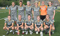 The Philadelphia Independence starting 11.  The Philadelphia Independence defeated the Atlanta Beat, 1-0 in an early season rematch of their opener.