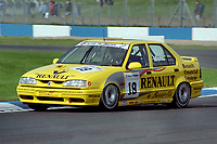 1993 British Touring Car Championship. #19 Alain Menu (CHE). Renault Dealer Racing. Renault 19 16v.