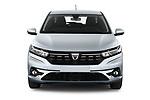 Straight front view of a 2021 Dacia Sandero Comfort 5 Door Hatchback