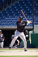 New York Yankees outfielder Rashad Crawford (48) during an Instructional League game against the Philadelphia Phillies on September 27, 2016 at Bright House Field in Clearwater, Florida.  (Mike Janes/Four Seam Images)