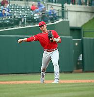 Matt Thaiss - Los Angeles Angels 2020 spring training (Bill Mitchell)