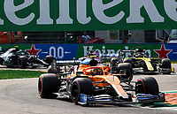6th September 2020; Autodromo Nazionale Monza, Monza, Italy ; Formula 1 Grand Prix of Italy, Race Day;  4 Lando Norris GBR, McLaren F1 Team