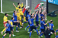 11th July 2021; Wembley Stadium, London, England; 2020 European Football Championships Final England versus Italy;  Italy celebrate their win
