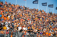 4th September 2021: Circuit Zandvoort, Zandvoort, Netherlands;  spectators, fans in the grandstands,  during the Formula 1 Heineken Dutch Grand Prix