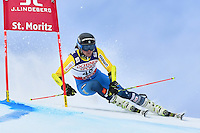 February 17, 2017: Mattias ROENNGREN (SWE) competing in the men's giant slalom event at the FIS Alpine World Ski Championships at St Moritz, Switzerland. Photo Sydney Low