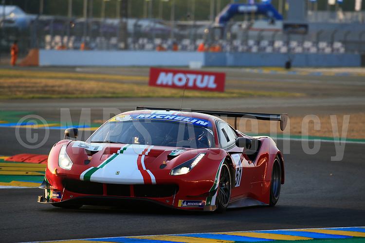 #51 SPIRIT OF RACE (CHE) FERRARI 488 GT3 GUNNAR JEANNETTE (USA)  RODRIGO SALES (USA)